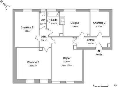 Vue n°2 Appartement 4 pièces à louer - SIGOLSHEIM (68240) - 98.67 m²