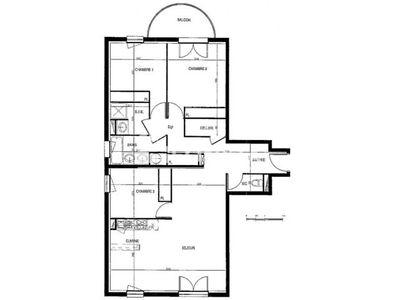 Vue n°2 Appartement 4 pièces à vendre - POITIERS (86000) - 90 m²