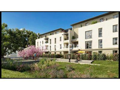 Vue n°2 Appartement 5 pièces à vendre - SEYSSUEL (38200) - 89 m²
