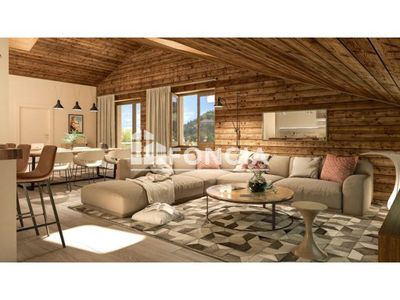 Vue n°3 Appartement 3 pièces à vendre - PRAZ SUR ARLY (74120) - 66.6 m²