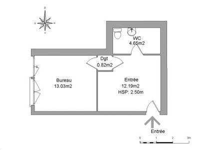 Vue n°2 Local commercial 1 pièce à louer - GARDANNE (13120) - 30.69 m²