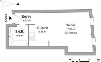 appartement 1 pièce à louer GUEBWILLER 68500 31.87 m²