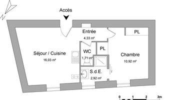 appartement 2 pièces à louer NARBONNE 11100 35.91 m²