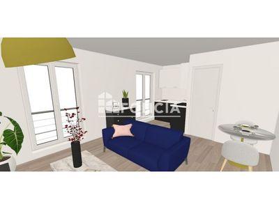 Vue n°2 Appartement 1 pièce à vendre - PARIS 20ème (75020) - 23.77 m²