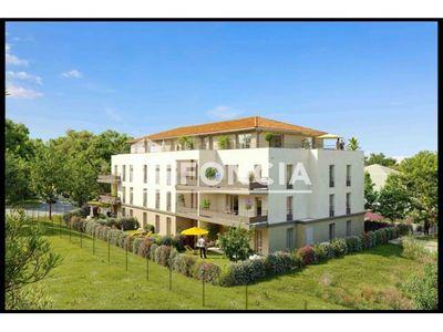 Vue n°2 Appartement 5 pièces à vendre - LES ROCHES DE CONDRIEU (38370) - 91 m²