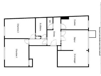 Vue n°2 Appartement 4 pièces à vendre - PARIS 20ème (75020) - 74.48 m²
